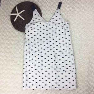 Ann Taylor LOFT shift dress size 2 100% cotton